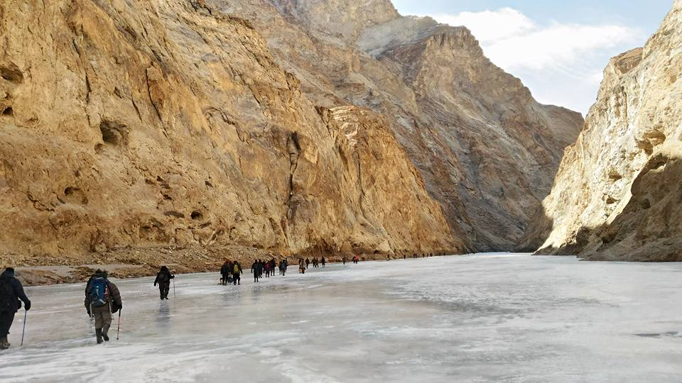 Winter Himalaya Trek – Chadar on 12th – 21st Jan 2019